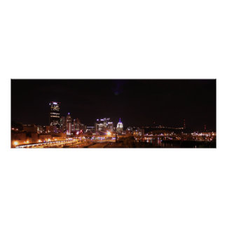 Pittsburgh City Lights Posters