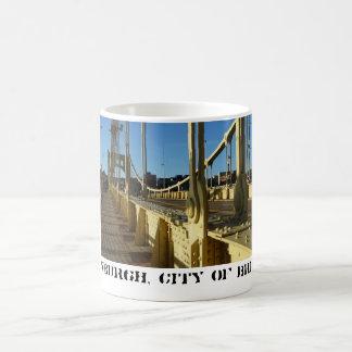 Pittsburgh, City of Bridges Coffee Mug