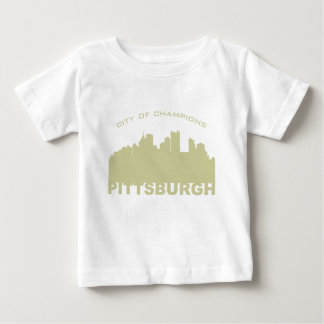 Pittsburgh: City of Champions Gold Baby T-Shirt