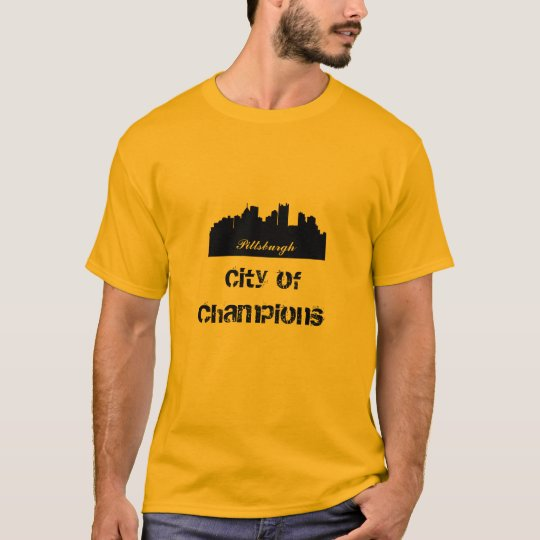 Pittsburgh City of Champions. T-Shirt