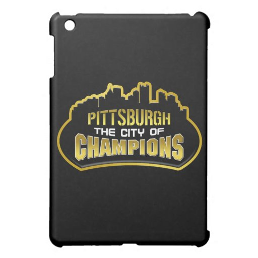 Pittsburgh City of Champs 6th Ring iPad Case