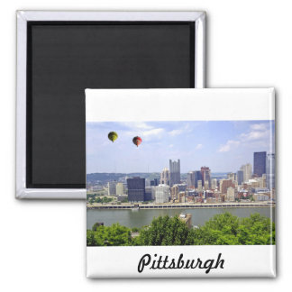 Pittsburgh City Pennsylvania 2 Inch Square Magnet