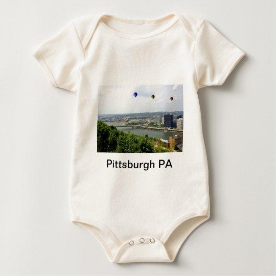 Pittsburgh City Pennsylvania Baby Bodysuit