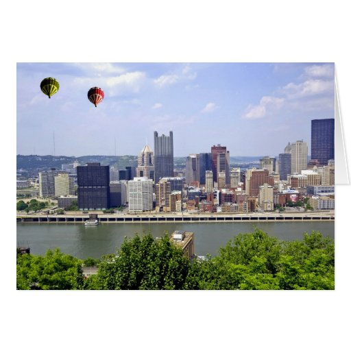 Pittsburgh City Pennsylvania Greeting Card