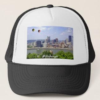 Pittsburgh City Pennsylvania Trucker Hat