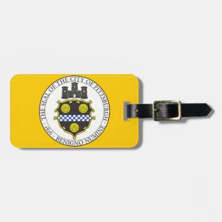 Pittsburgh City Seal Bag Tag