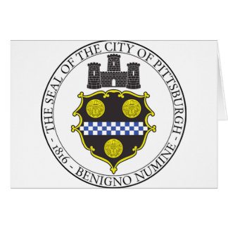 Pittsburgh City Seal Card