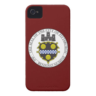 Pittsburgh City Seal iPhone 4 Case