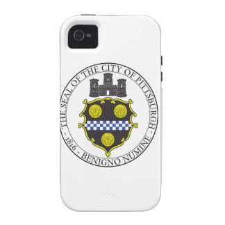 Pittsburgh City Seal Vibe iPhone 4 Cover