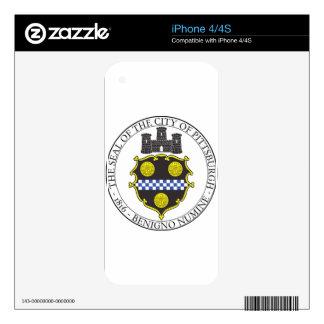 Pittsburgh City Seal iPhone 4 Skin