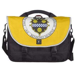 Pittsburgh City Seal Laptop Messenger Bag