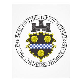 Pittsburgh City Seal Letterhead