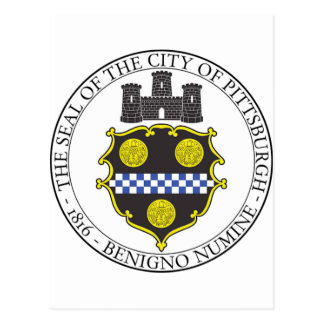 Pittsburgh City Seal Postcard