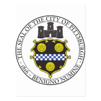 Pittsburgh City Seal Postcard