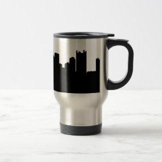 Pittsburgh City Skyline 15 Oz Stainless Steel Travel Mug