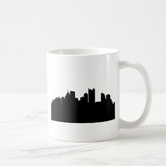 Pittsburgh City Skyline Classic White Coffee Mug