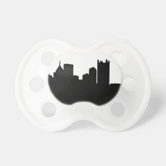Pittsburgh City Skyline Pacifiers