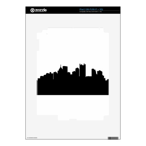 Pittsburgh City Skyline Skin For The iPad 2