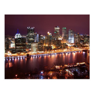 Pittsburgh Cityscape Postcard