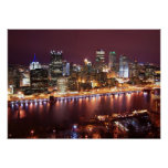 Pittsburgh Cityscape Posters