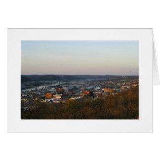 Pittsburgh, ciudad de puentes tarjeta pequeña