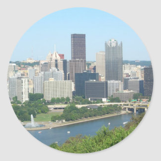 Pittsburgh Classic Round Sticker