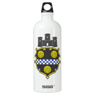 Pittsburgh Coat of Arms Aluminum Water Bottle