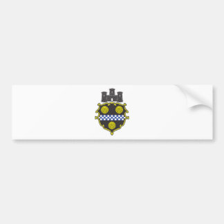 Pittsburgh Coat of Arms Bumper Sticker