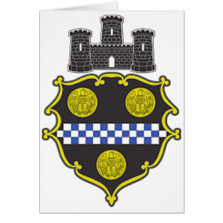 Pittsburgh Coat of Arms Card