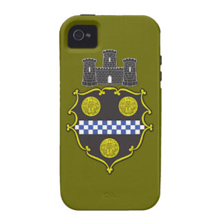 Pittsburgh Coat of Arms Case-Mate iPhone 4 Case