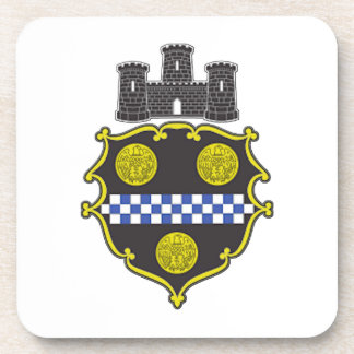 Pittsburgh Coat of Arms Drink Coaster
