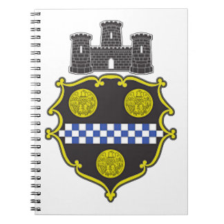 Pittsburgh Coat of Arms Notebook