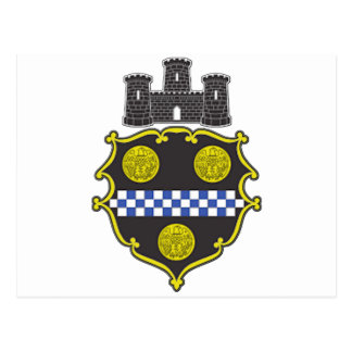 Pittsburgh Coat of Arms Postcard