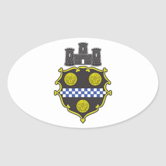 Pittsburgh Coat of Arms Stickers