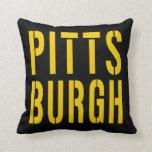 Pittsburgh Cojines