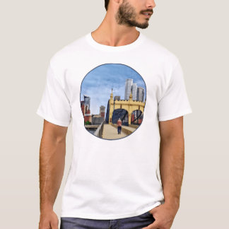 Pittsburgh - Crossing the Smithfield Street Bridge T-Shirt
