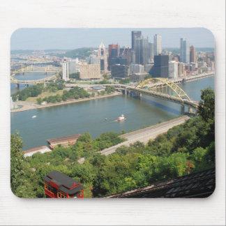 Pittsburgh de Mt Washington Alfombrillas De Ratón