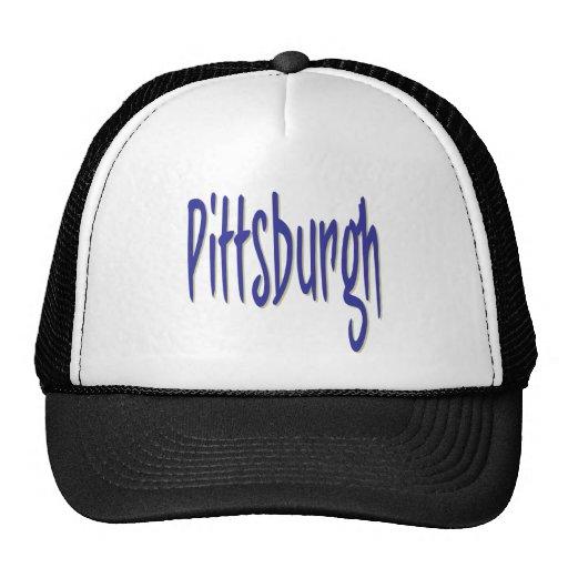 Pittsburgh Design 6 Trucker Hat