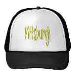 Pittsburgh Design 8 Mesh Hats