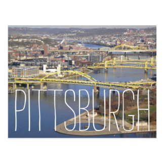 Pittsburgh dos postales