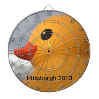 Pittsburgh Ducky de goma Tabla Dardos