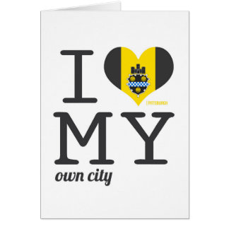 Pittsburgh el | Pennsylvania Tarjeta De Felicitación
