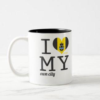 Pittsburgh el | Pennsylvania Taza De Dos Tonos