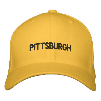 PITTSBURGH EMBROIDERED HATS
