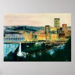 Pittsburgh en la oscuridad posters