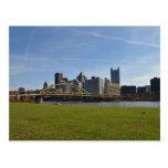Pittsburgh en noviembre postal