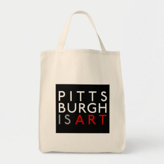 Pittsburgh es bolso de ultramarinos reutilizable d bolsa