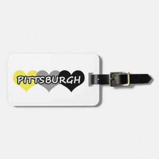 Pittsburgh Etiqueta De Equipaje