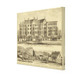 Pittsburgh Female College Pittsburgh Canvas Print