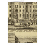 Pittsburgh Female College Pittsburgh Greeting Cards